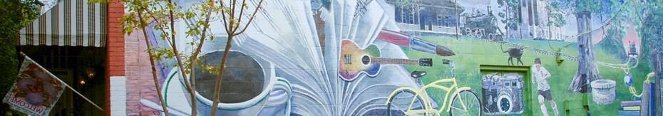 Clinton Mural
