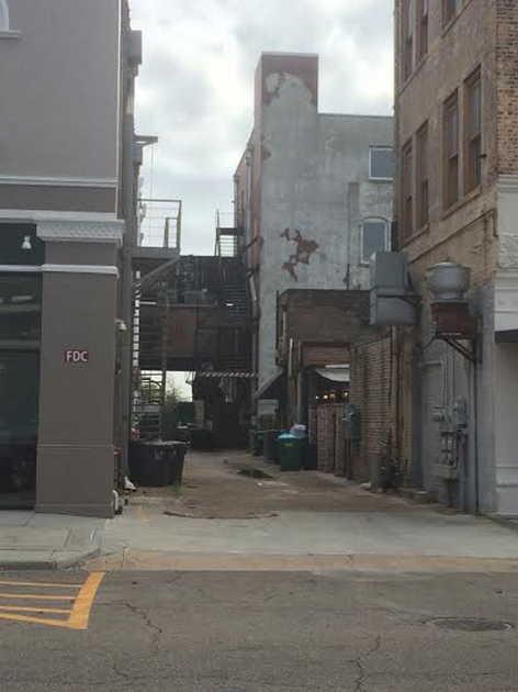 Fishbone Alley Before