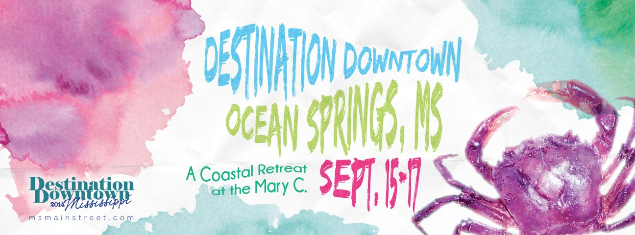 September 15-17: Destination Downtown in Ocean Springs