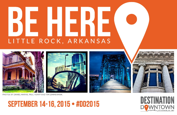 Sept. 14-16: Destination Downtown in Little Rock, AR