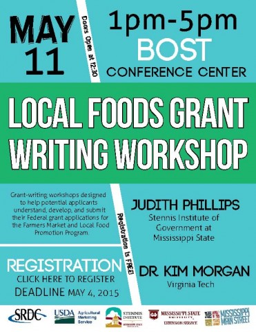 May 11: Local Foods Grant Writing Workshop in Starkville